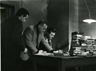 """<div>Valerio Zurlini e Marcello Mastroianni durante la lavorazione del film</div> <div><span style=""""font-size: 10pt;"""">Foto di Giovan Battista Poletto</span></div>"""