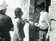 <div>Gina Lollobrigida e Yves Montand durante la lavorazione del film</div> <div>Foto Pierluigi</div>