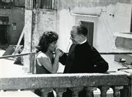 <div>Gina Lollobrigida and Marcello Giorda</div> <div>Foto Pierluigi</div>