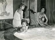 <div>Brigitte Bardot durante la lavorazione del film</div> <div>Foto di Giovan Battista Poletto</div>