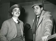 """<div>Mario Monicelli e Alberto Sordi durante la lavorazione del film</div> <div><span style=""""font-size: 10pt;"""">Foto di Giovan Battista Poletto</span></div>"""