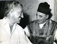 """<div>Vittorio De Sica e Virgilio De Riento durante la lavorazione del film</div> <div><span style=""""font-size: 10pt;"""">Foto di Giovan Battista Poletto</span></div>"""