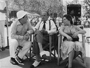 """<div>Elio Petri, Salvo Randone e Regina Bianchi durante la lavorazione del film</div> <div><span style=""""font-size: 10pt;"""">Foto di Giovan Battista Poletto</span></div>"""