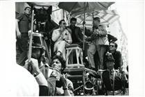 """<div>Luchino Visconti e Alain Delon durante la lavorazione del film</div> <div><span style=""""font-size: 10pt;"""">Foto di Giovan Battista Poletto</span></div>"""