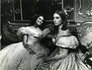 "<div>Claudia Cardinale and Lucilla Morlacchi</div> <div><span style=""font-size: 10pt;"">Photo by Giovan Battista Poletto</span></div>"