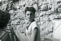 """<div>Sophia Loren durante la lavorazione del film</div> <div><span style=""""font-size: 10pt;"""">Foto Gargiulo</span></div>"""