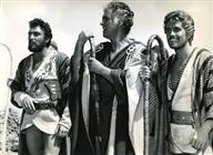 "<div><span style=""font-size: 10pt;"">Rik Battaglia, Stewart Granger and Giacomo Rossi Stuart</span></div> <div><span style=""font-size: 10pt;"">Photo by Giovan Battista Poletto</span></div>"