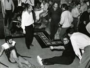 """<div>Stanley Baker e Robert Aldrich durante la lavorazione del film</div> <div><span style=""""font-size: 10pt;"""">Foto di Giovan Battista Poletto</span></div>"""