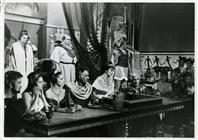 """<div>Stewart Granger durante la lavorazione del film</div> <div><span style=""""font-size: 10pt;"""">Foto di Giovan Battista Poletto</span></div>"""