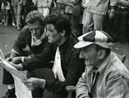 """<div>Renato Salvatori, Vittorio Gassman e Carlo Pisacane</div> <div><span style=""""font-size: 10pt;"""">Foto di Giovan Battista Poletto</span></div>"""
