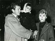 "<div><span style=""font-size: 10pt;"">Richard Basehart and Giulietta Masina</span></div> <div>Photo by Giovan Battista Poletto</div>"