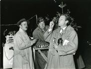 "<div><span style=""font-size: 10pt;"">Broderick Crawford (in the middle) and Richard Basehart (on the right)</span></div> <div>Photo by Giovan Battista Poletto</div>"