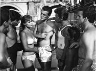 <div>Marisa Allasio, Ettore Manni and Renato Salvatori</div> <div>Photo by Giovan Battista Poletto</div>
