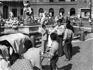 <div>Marisa Allasio e Renato Salvatori durante la lavorazione del film</div> <div>Foto di Giovan Battista Poletto</div>