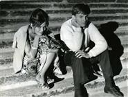 """<div>Claudia Cardinale e Jacques Perrin durante la lavorazione del film</div> <div><span style=""""font-size: 10pt;"""">Foto di Giovan Battista Poletto</span></div>"""