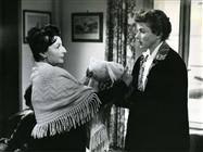 <div>Albamaria Setaccioli and Ingrid Bergman</div> <div>Photo by Giovan Battista Poletto</div>