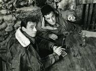 """<div>Yves Montand e Giuseppe De Santis durante la lavorazione del film</div> <div><span style=""""font-size: 10pt;"""">Foto di Giovan Battista Poletto</span></div>"""
