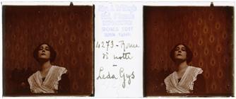 Leda Gys, ritratto stereoscopico