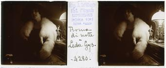 Leda Gys, stereoscopic portrait
