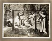 """Augusto Poggioli e Leda Gys in <span style=""""font-style: italic;"""">Christus</span> diGiulio Antamoro, Ignazio Lupi e Enrico Guazzoni, 1916"""